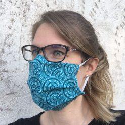 masque grand public azur 10 lavages