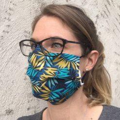 masque grand public tropique 10 lavages