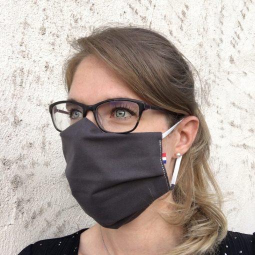 masque grand public UNS1 anthracite 10 lavages