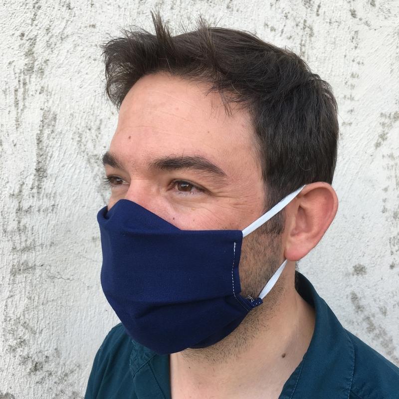 masque grand public UNS1marine 10 lavages